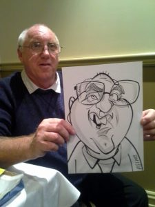 Anthony Pascoe - Caricature Artist